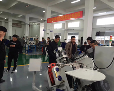 Airon Machinery warmly received customers'team from Tianjin