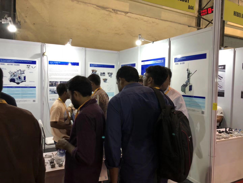 Airon Machinery attend Fastener Fair Mumbai 2019