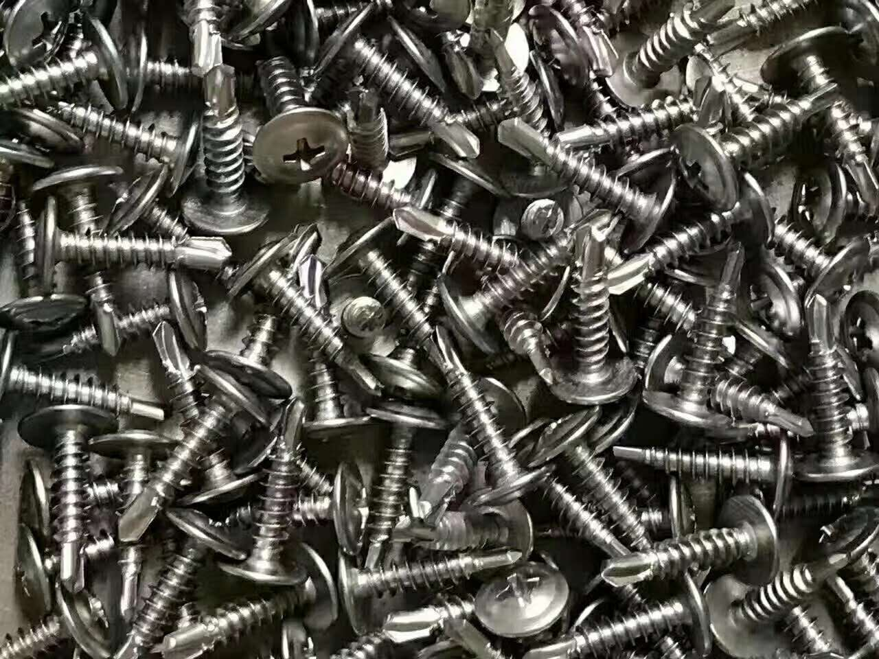 Wafer Head Stainless Steel Self Drilling Screws